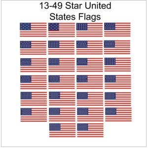 Historical 13-49 Star U.S. Flags
