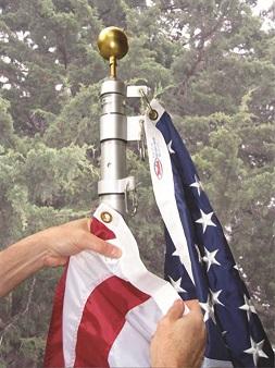 Telescoping Flagpoles from Martin's Flag Company