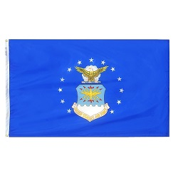 "12"" X 18"" Nylon Air Force Flag"