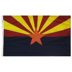 "12"" X 18"" Nylon Arizona State Flag"