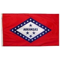 5' X 8' Polyester Arkansas State Flag
