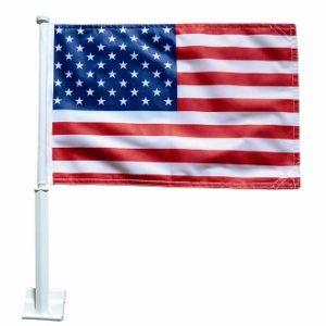 "U.S. Car Flag 11"" x 14"""