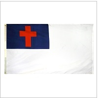 Outdoor Nylon Christian Flags