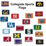 Collegiate sports flags group 2