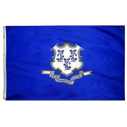 4' X 6' Polyester Connecticut State Flag