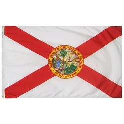 5' X 8' Polyester Florida State Flag