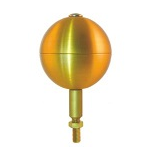 Gold Flagpole Ball Tops – final