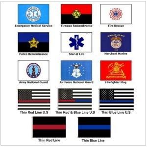 Civilian Service Flags