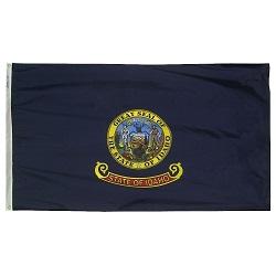 """12"""" X 18"""" Nylon Idaho State Flag"""