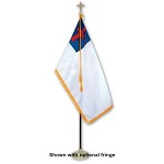 Indoor Christian Flag Set