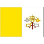 Indoor Nylon Papal Flags – final