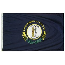5' X 8' Polyester Kentucky State Flag