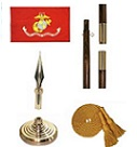 Marine Corps Indoor Flag Set v2