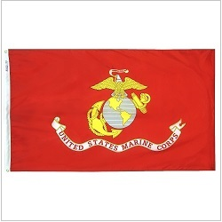 Outdoor Polyester Marine Corps Flags