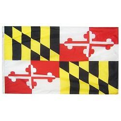 3' X 5' Nylon Maryland State Flag