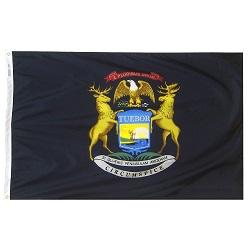 3' X 5' Nylon Michigan State Flag