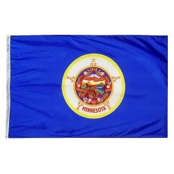5' X 8' Polyester Minnesota State Flag