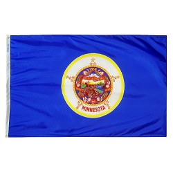 3' X 5' Polyester Minnesota State Flag