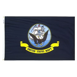 3'x5' Polyester Navy Flag