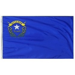 5' X 8' Nylon Nevada State Flag