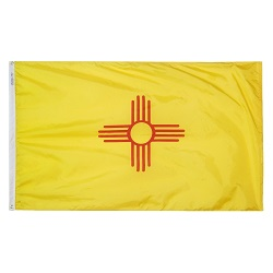 3' X 5' Nylon New Mexico State Flag