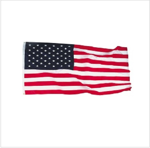 How to properly retire an American flag