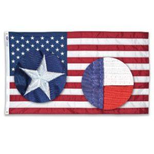 5' X 9.5' Cotton U.S. Flag (Cotton-Interment)