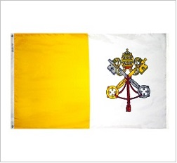 Outdoor Nylon Papal Flags