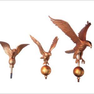 Flagpole Eagle Ornaments