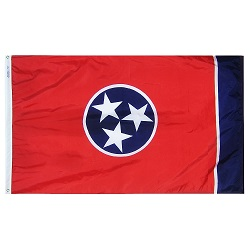 5' X 8' Polyester Tennessee State Flag