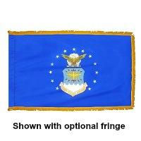 3' X 5' Indoor Nylon Air Force Flag