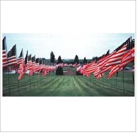 Avenue of Flagpoles