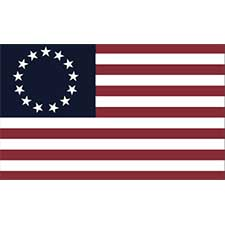 Historical American Heritage Flags