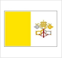Indoor Nylon Papal Flags