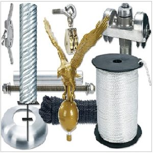 Flagpole Parts and Accessories