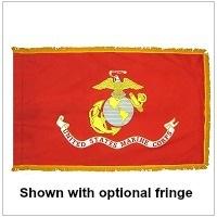 Indoor Nylon Marine Corps Flags