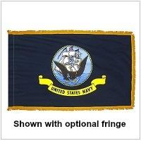 Indoor Nylon Navy Flags