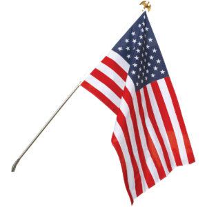 outdoor flag set