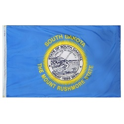 5' X 8' Nylon South Dakota State Flag