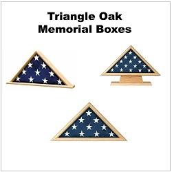 Triangle Oak Memorial Boxes
